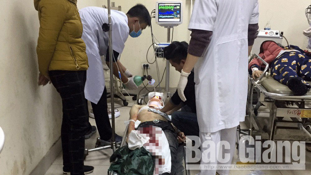 Một người bị đâm chết tại đường Minh Khai (TP Bắc Giang)